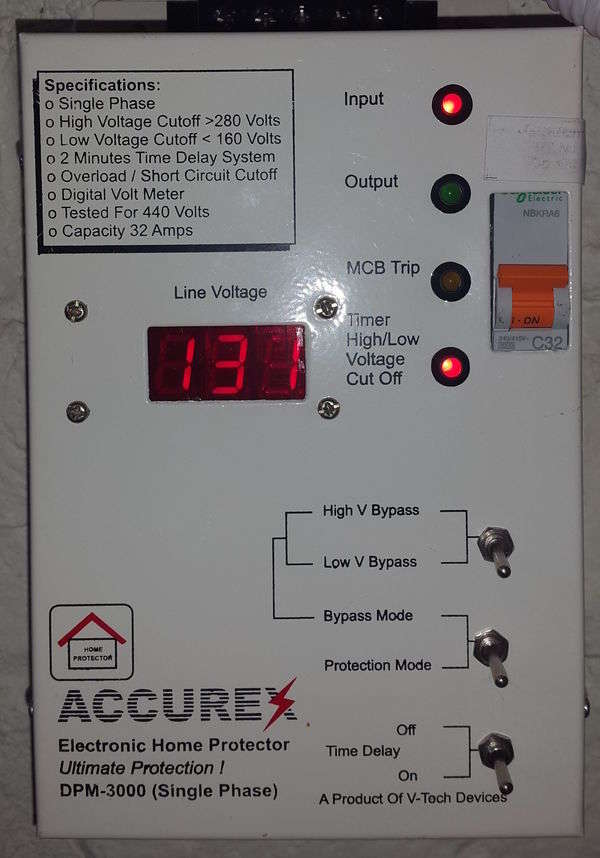 Photograph of Accurex DPM-3000