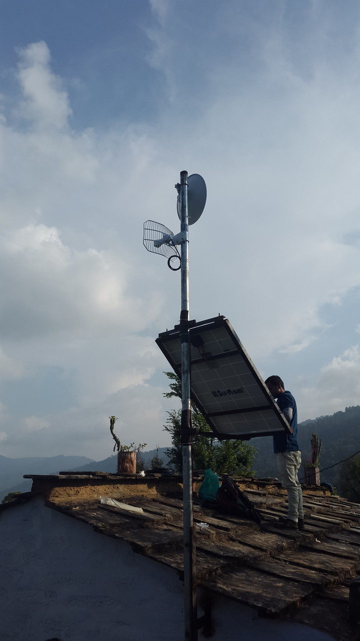 Wifi relay station
